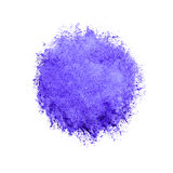 Colorful watercolor circle, red drop on white background. Royalty Free Stock Image