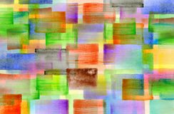 Colorful watercolor designed artwork background Stock Photo
