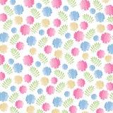 Colorful Watercolor Floral Background Royalty Free Stock Photos