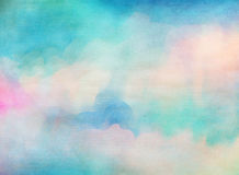 Colorful Watercolor. Grunge texture background. Stock Photo