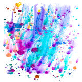 Colorful watercolor Royalty Free Stock Photos