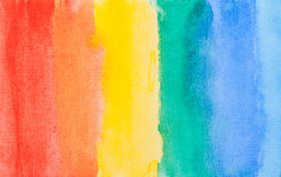 Colorful watercolor line background Royalty Free Stock Photography