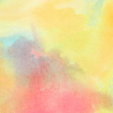 Colorful watercolor painted background Royalty Free Stock Photos
