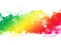 Colorful watercolor splash texture background isolated. Hand-drawn blob, spot. Watercolor effects. abstract background. Beautiful   Colorful watercolor splash stock photography