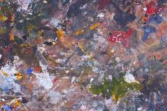 Colorful of watercolors splash Stock Photos