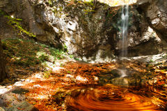 Colorful waterfall Stock Photos