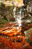 Colorful waterfall Royalty Free Stock Photography