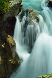 Colorful waterfall Royalty Free Stock Images