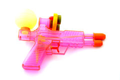 Colorful watergun. Isolate on white background Stock Photography