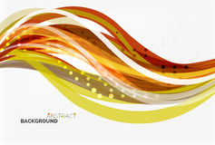 Colorful wave abstract background. Vector template background for workflow layout, diagram, number options or web design vector illustration