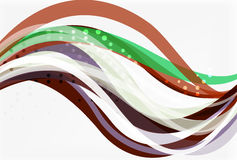 Colorful wave abstract background Royalty Free Stock Photography