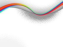 Colorful wave,  background Royalty Free Stock Photography