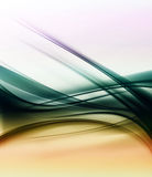 Colorful Wave Lines Stock Image
