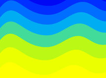 Colorful waves Royalty Free Stock Images