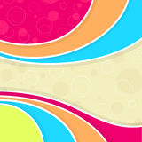Colorful waves background Stock Photos