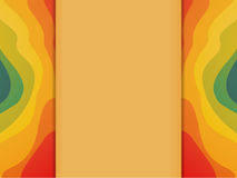 Colorful Waves Background with Copyspace Stock Photo