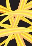 Colorful waves of layout design. In black background. Vector illustration vector illustration