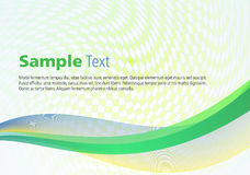 Colorful waves on square background vector illustration