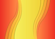 Colorful wavy background. Stock Photography