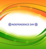 Colorful Wavy Background for Indian Stock Photo