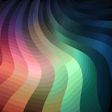 Colorful Wavy Background Royalty Free Stock Photography