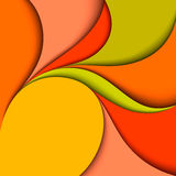 Colorful wavy design. Abstract background Royalty Free Stock Photos