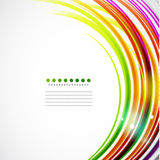 Colorful wavy lines Royalty Free Stock Photo