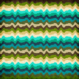 Colorful Wavy Stripes Background Royalty Free Stock Image