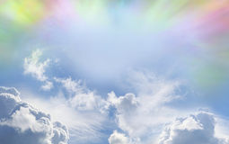 Colorful Weather phenomenon Stock Photography