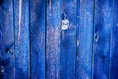 Colorful weathered wooden fence texture Stock Images