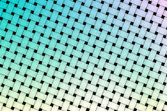 Colorful weave pattern Stock Photography
