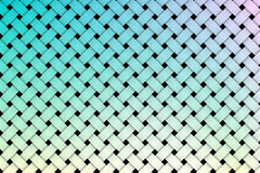 Colorful weave pattern background Stock Photography