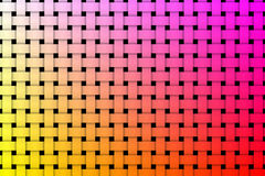 Colorful weave pattern background Royalty Free Stock Photos