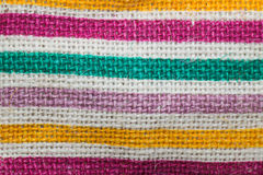 Colorful weave texture Royalty Free Stock Photography