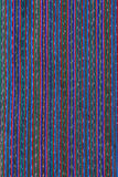 Colorful Weaving. The brilliant colors of a traditional piece of Guatemalan weaving Stock Photo