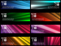 Colorful Web Banners royalty free illustration