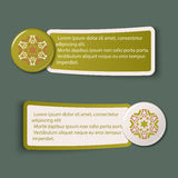 Colorful Web Stickers, Tags and Labels Stock Images