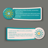 Colorful Web Stickers, Tags and Labels Stock Image