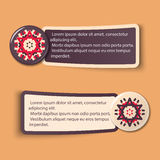 Colorful Web Stickers, Tags and Labels Royalty Free Stock Photo