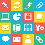 Colorful website icons set great for any use. Vector EPS10. Stock Photo