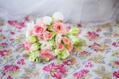 Colorful wedding bouquet Royalty Free Stock Photo