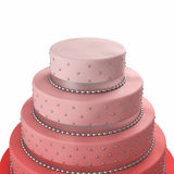 Colorful wedding cake Stock Images