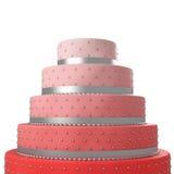Colorful wedding cake Stock Photo
