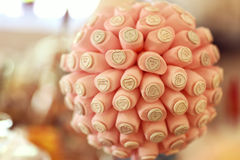 Colorful Wedding Candy Royalty Free Stock Photography