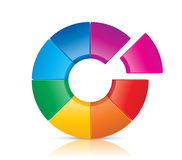 Colorful Wheel Stock Photography