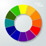 Colorful Wheel concept Royalty Free Stock Photography