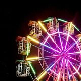 Colorful wheel. Let& x27;s make happiness Stock Photography