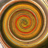 Colorful whirl-pool. Colorful water color spiral background royalty free stock photo