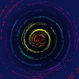 Colorful whirl pattern Royalty Free Stock Photography