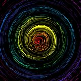 Colorful whirl pattern Royalty Free Stock Image